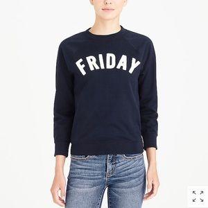 J Crew Friday Sweatshirt - Size Small